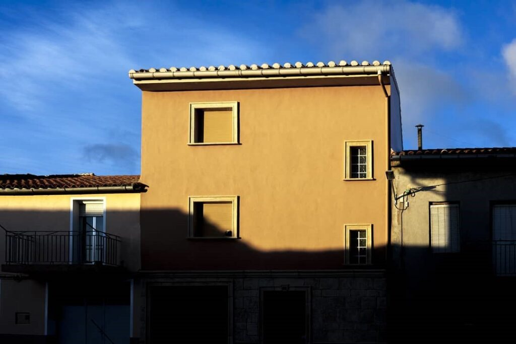 fotografiar fachadas